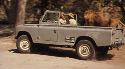 LAND ROVER 109 brown