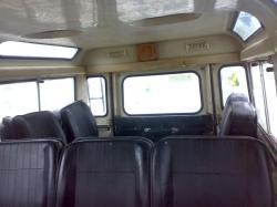 LAND ROVER 109 interior