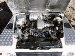 LAND ROVER 110 engine