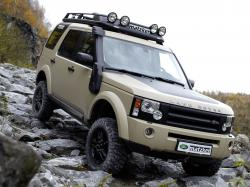 LAND ROVER DISCOVERY 2 G4 interior