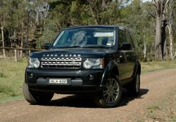 LAND ROVER DISCOVERY black