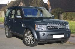 LAND ROVER DISCOVERY blue