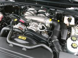LAND ROVER DISCOVERY engine