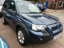 LAND ROVER FREELANDER 1.8 blue