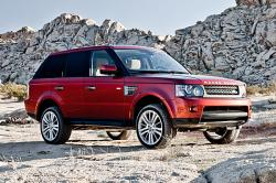 LAND ROVER RANGE ROVER HSE SPORT red