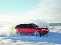 LAND ROVER RANGE red