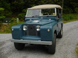 LAND ROVER SERIES II blue