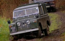 LAND ROVER SERIES II silver