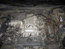 LEXUS 400 engine