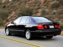LEXUS GS 300 black