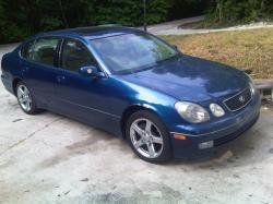 LEXUS GS 300 blue
