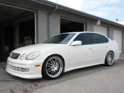 LEXUS GS 300 white