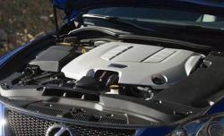 LEXUS IS F engine