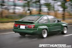 LEXUS IS F green