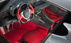 LEXUS LF-A interior
