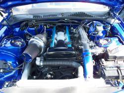 LEXUS SC blue