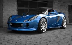 LOTUS ELISE CONVERTIBLE blue