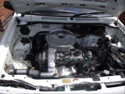 MAZDA 121 engine