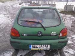 MAZDA 121 green