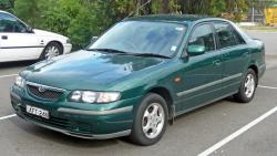 MAZDA 626 green