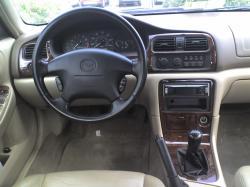 MAZDA 626 interior