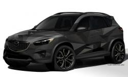 MAZDA CX-5 AT brown
