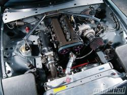 MAZDA RX-5 engine