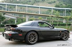 MAZDA RX-7 FD black