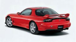 MAZDA RX-7 FD red