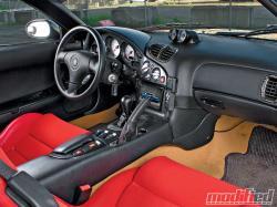 MAZDA RX-7 interior