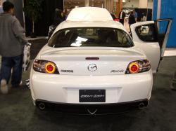 MAZDA RX-8 white