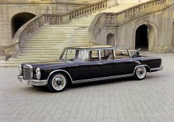 MERCEDES-BENZ 600 LANDAULET brown