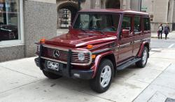 MERCEDES-BENZ 600 red