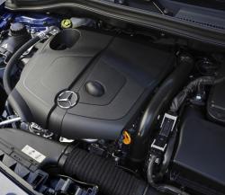 MERCEDES-BENZ B engine