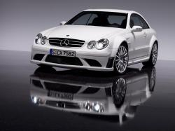 MERCEDES-BENZ CLK black