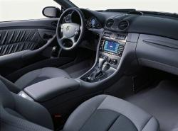 MERCEDES-BENZ CLK interior