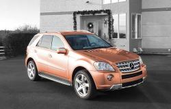 MERCEDES-BENZ ML brown