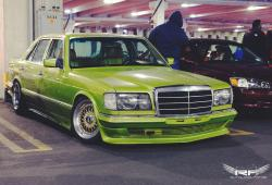 MERCEDES-BENZ S green