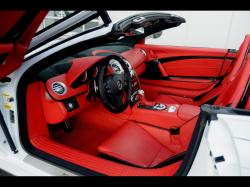 MERCEDES-BENZ SLR MCLAREN interior