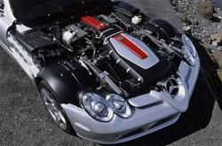 MERCEDES-BENZ SLR engine