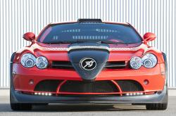 MERCEDES-BENZ SLR red
