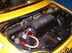 MG MGF engine