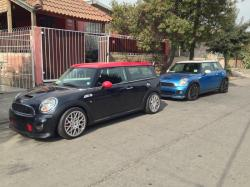 MINI CLUBMAN 1275 GT red