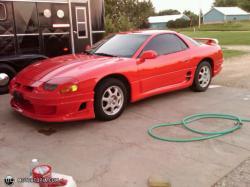 MITSUBISHI 3000 GT red