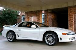 MITSUBISHI 3000 GT white