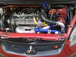 MITSUBISHI COLT engine