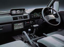 MITSUBISHI DELICA 4WD interior
