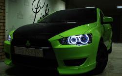 MITSUBISHI LANCER green