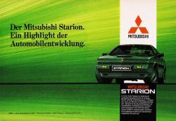 MITSUBISHI STARION green