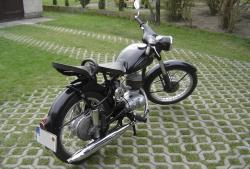 MZ 125 black